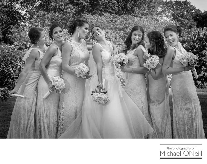 Fun Bridal Party Photos LI Long Island Photographer