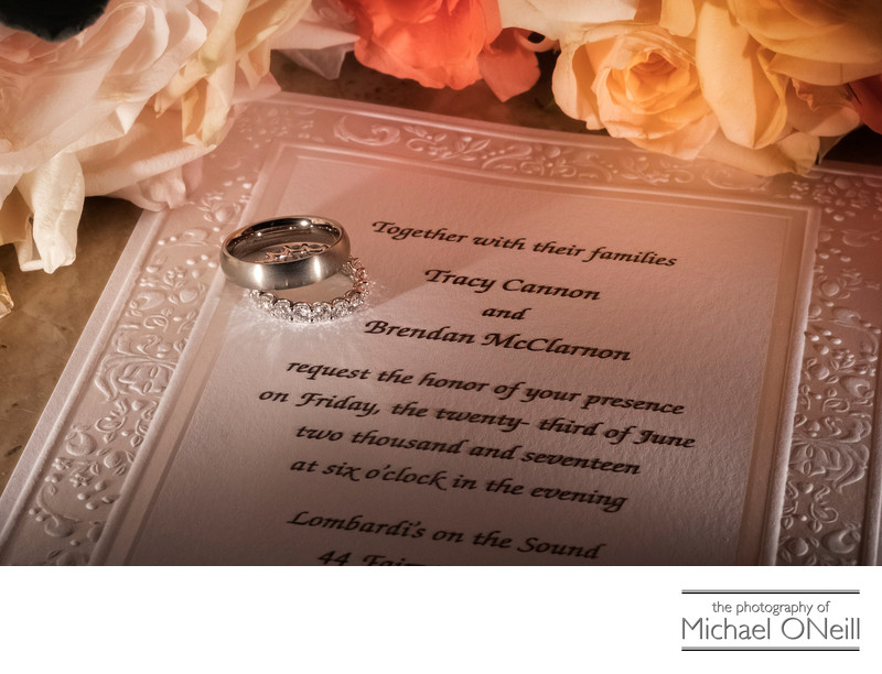 Wedding Rings Pictures Long Island LI Photographer