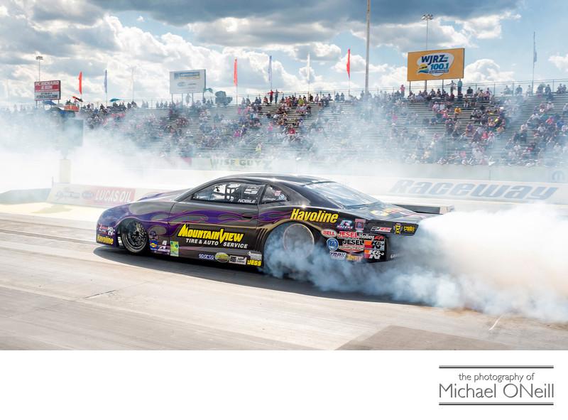 Best Burnout Ever NHRA Motorsports Racing Photographer