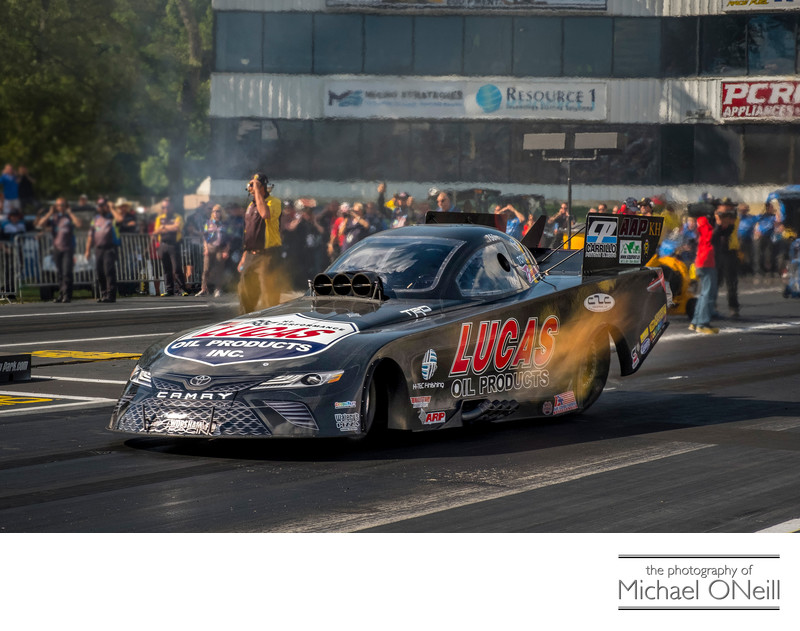 Motorsports Racing Photographer Assignment Stock Images