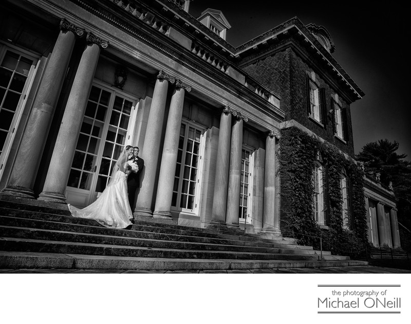 Old Westbury Gardens Mansion Wedding Photography