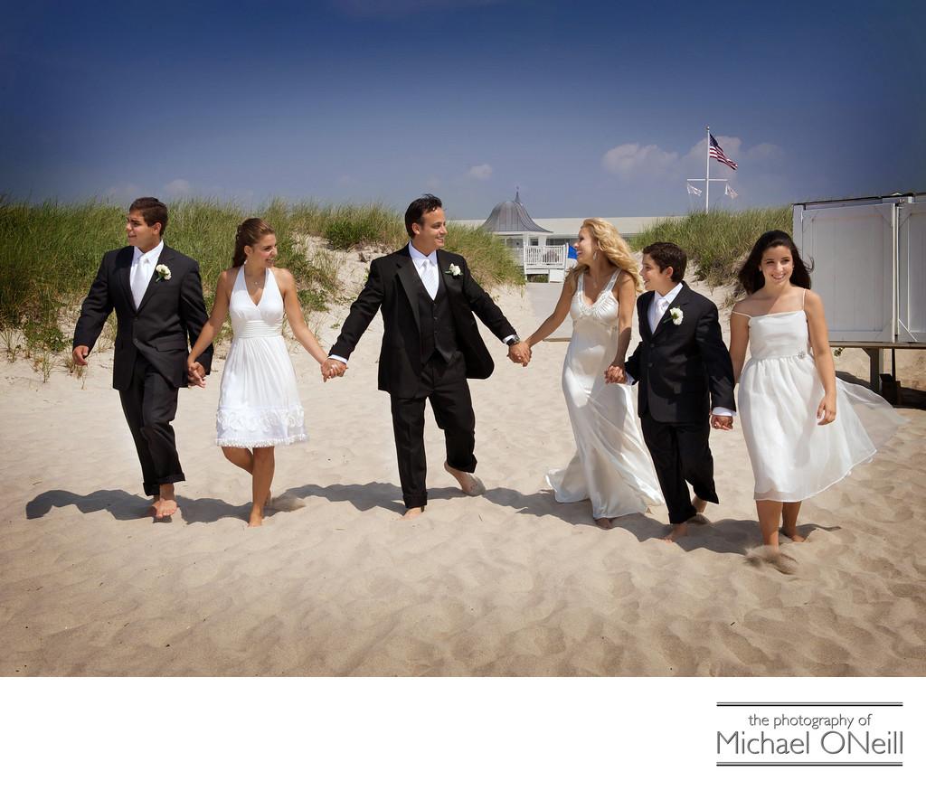 Hamptons oceanbleu beach wedding photos new york wedding for Beach weddings in ny