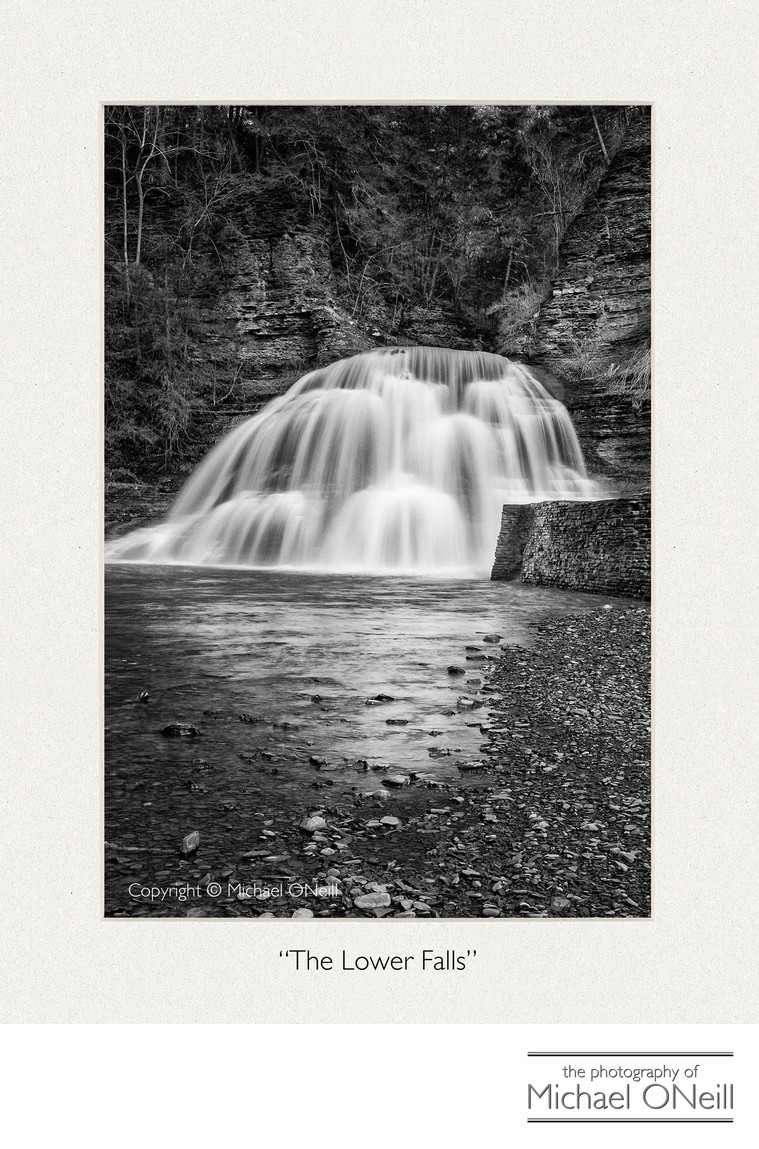 Finger Lakes NY Waterfall Collectible Fine Art Photography Edition