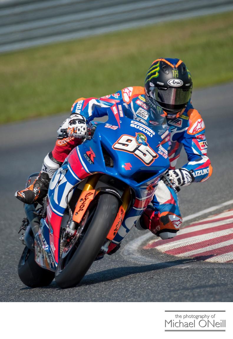 Roger Hayden MotoAmerica Superbike NJMP Images Suzuki