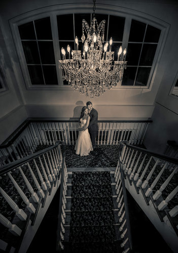 Grand Staircase Wedding Pictures Long Island
