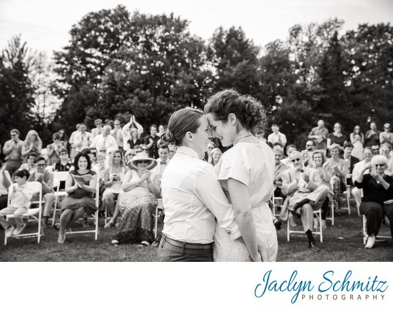 wedding photos Hosmer Summer Camp