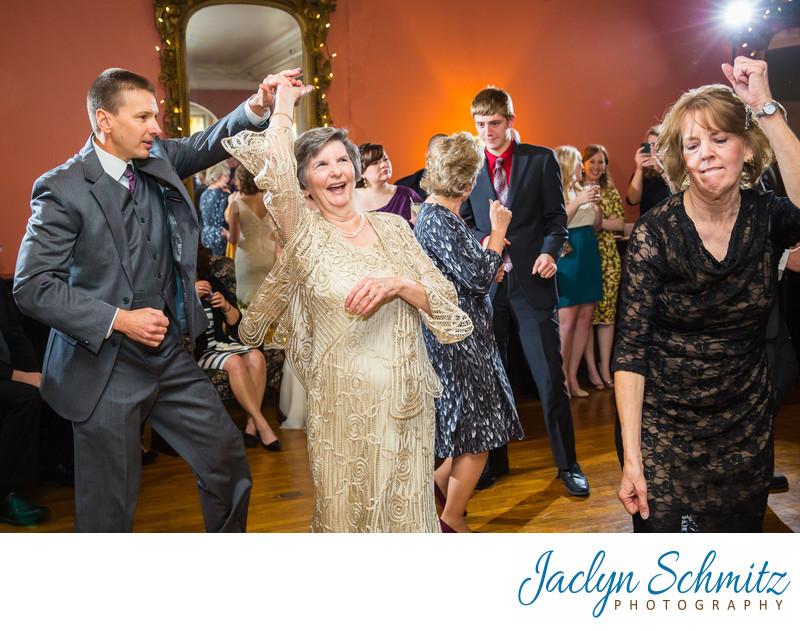 Fun Wedding Reception Photos Vermont