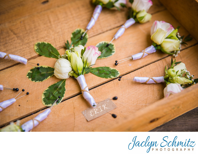 Spring Hill Designs boutonnieres