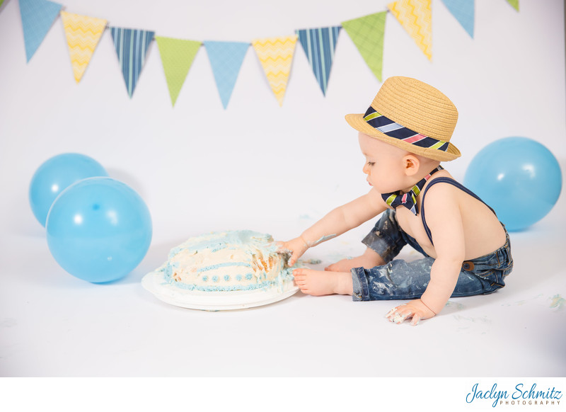cake smash photography VT