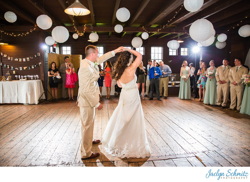 Inn at Mountain View Farm reception photos