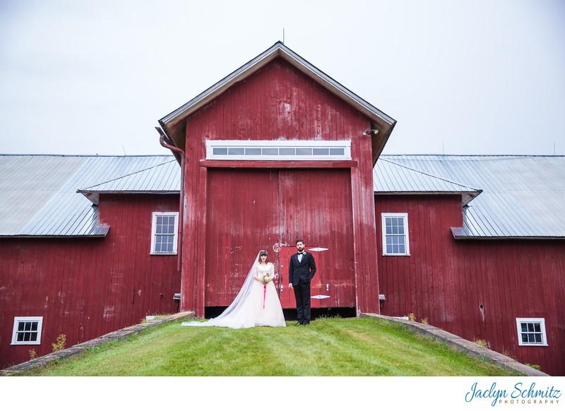 Dairy barn Inn at Mountain View Farm