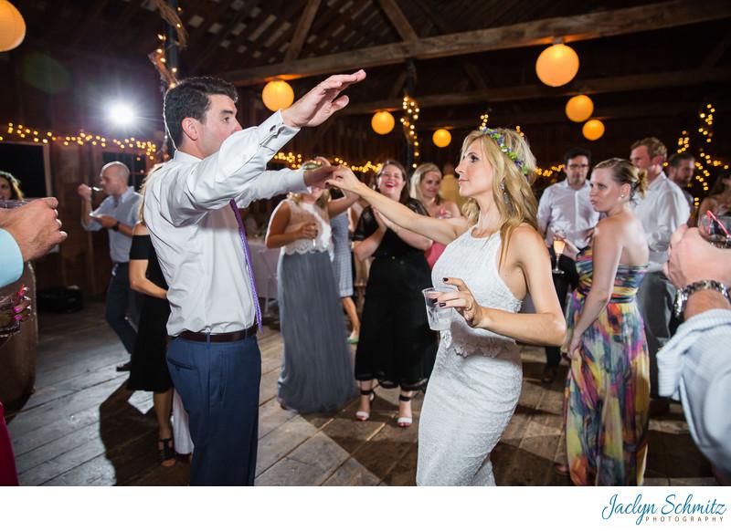 Dancing at West Mountain Inn