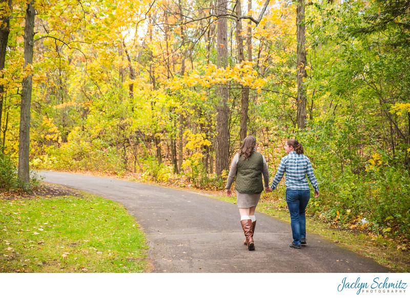 Park Engagement Session Vermont