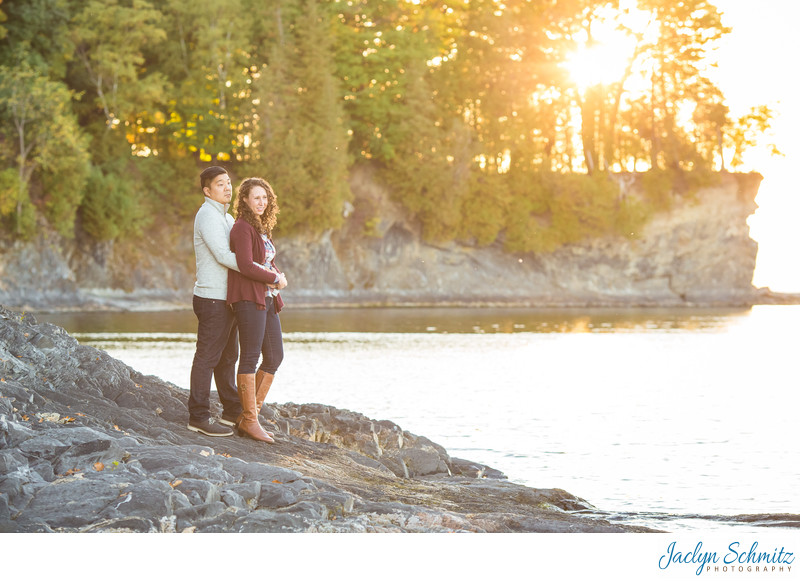 Shelburne Farms Sunset Portraits