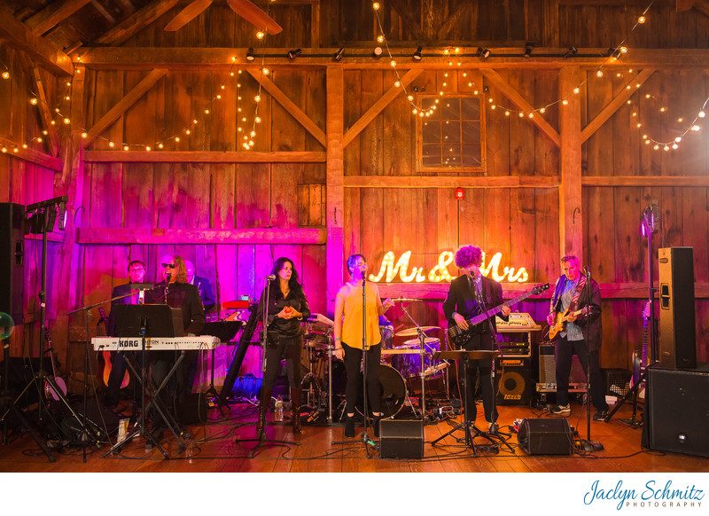 A House On Fire wedding band Vermont