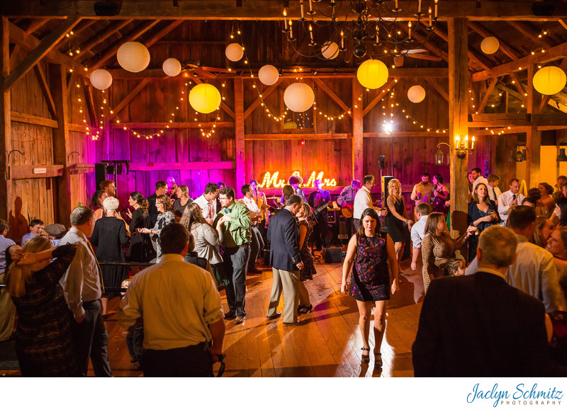 Best barn wedding reception VT