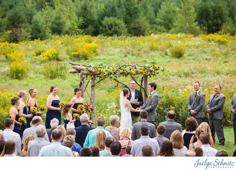 Mansfield Barn Ceremony