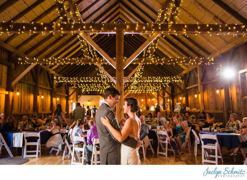Mansfield Barn Wedding VT