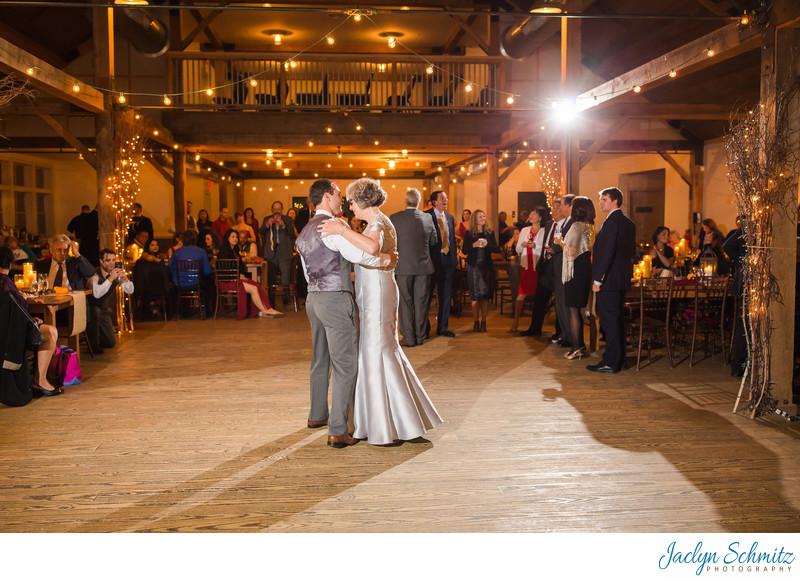 Mountaintop Inn wedding reception