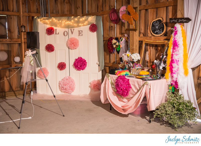Wedding photo booth ideas Vermont