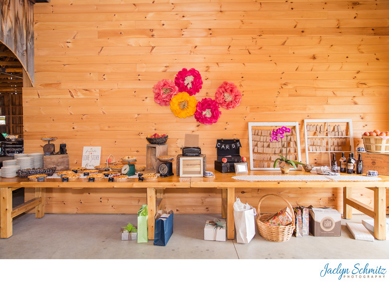 Franklin County Field Days dessert table