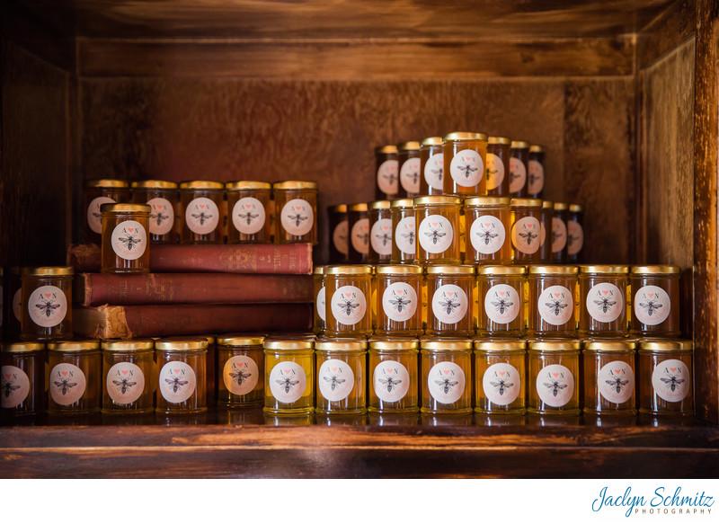 Howrigan Honey Hill Farm wedding favors VT
