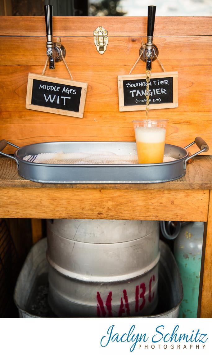 Craft beer wedding Vermont