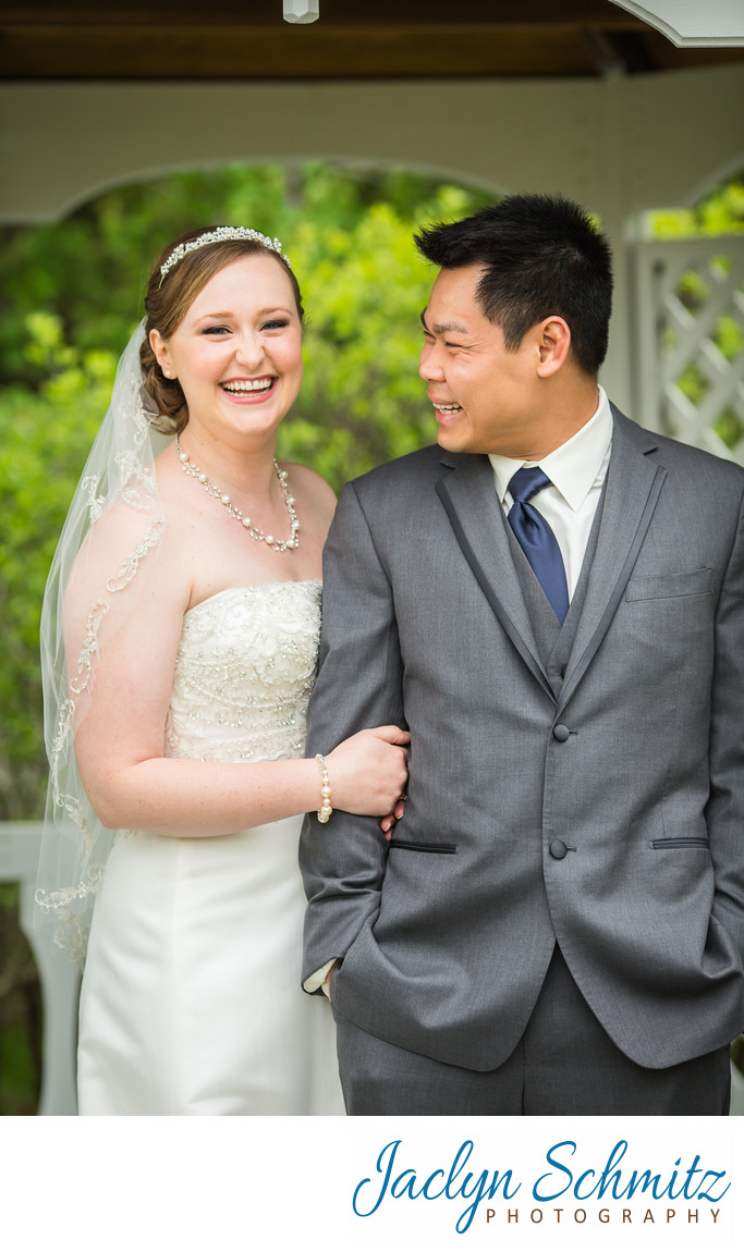 Essex Resort and Spa gazebo wedding photos