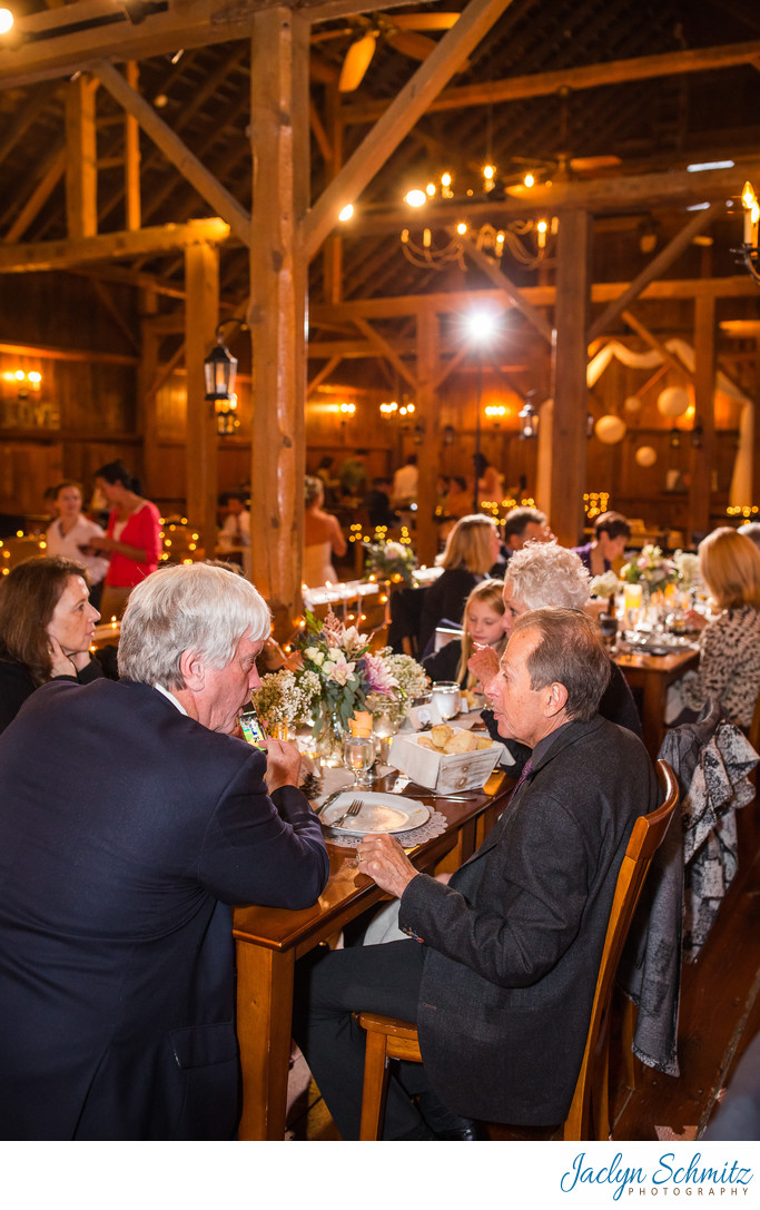 Farm table wedding Vermont