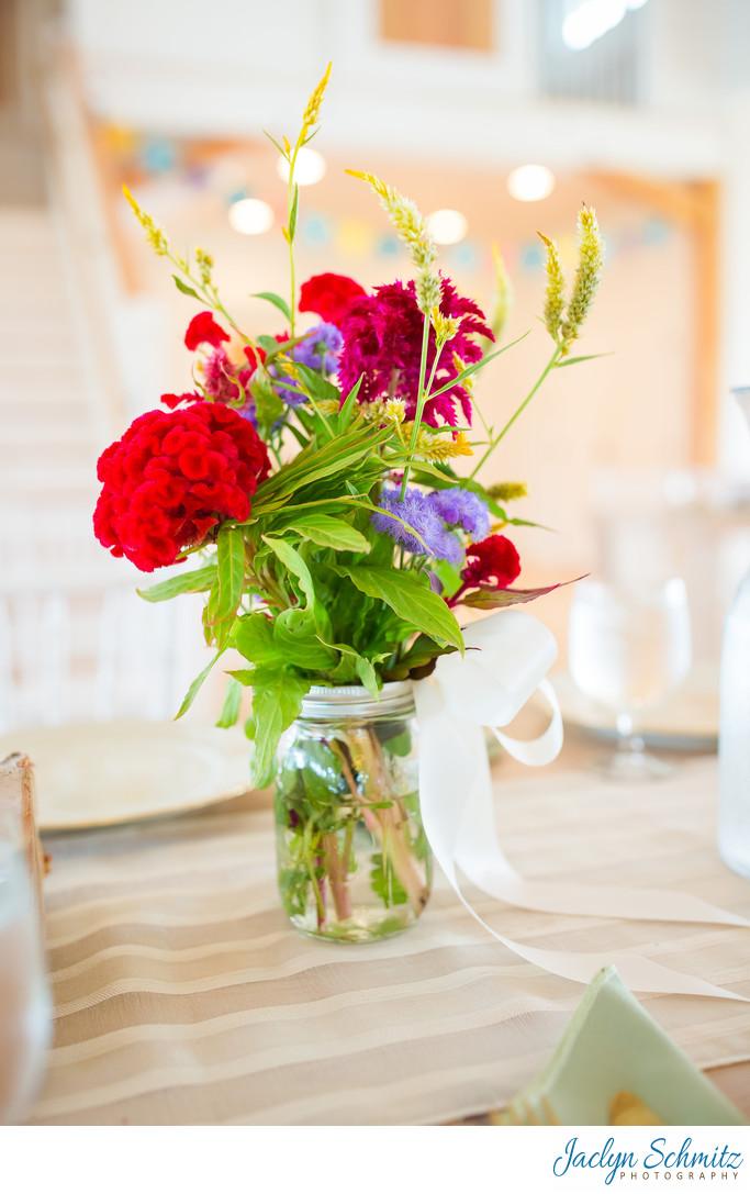 Natural light wedding barn VT