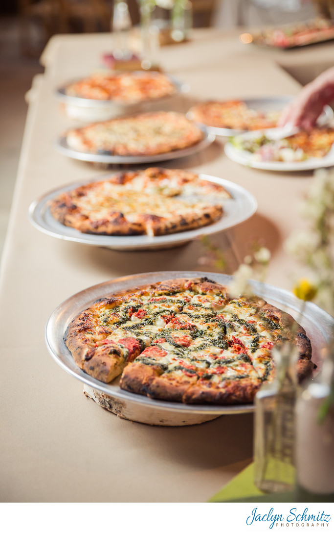 American Flatbread wedding catering VT