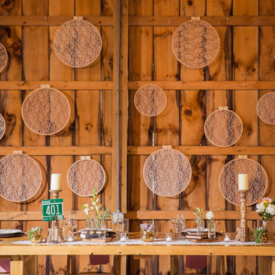 vintage wedding reception vermont