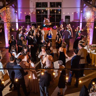 Wedding reception photos Mountain Top Inn VT