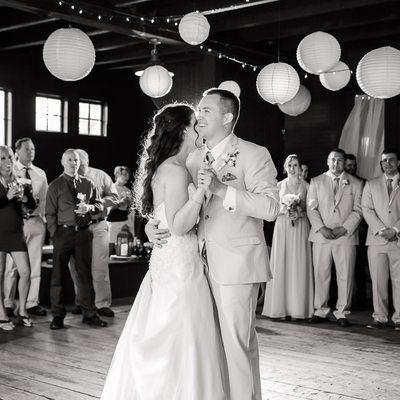 East Burke VT wedding reception