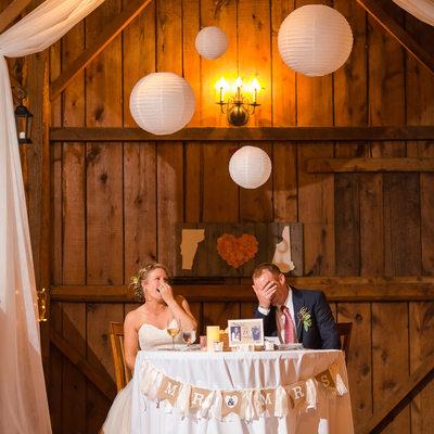 Reception photos Boyden Farm Wedding
