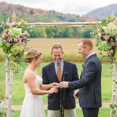 Barn at Boyden Farm Wedding Ceremony