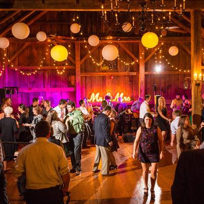 Best barn wedding reception VT