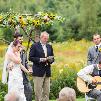 Wedding ceremony guitar Vermont