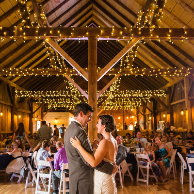 Mansfield Barn Wedding VT