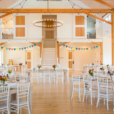 Modern Smuggler's Notch Wedding Barn VT