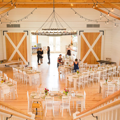 Two story wedding barn Vermont