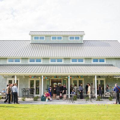 Modern upscale new wedding barn Vermont