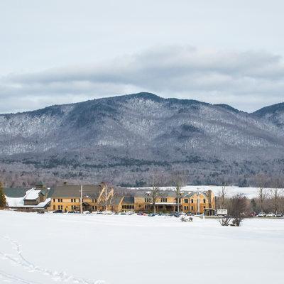 Mountain Top Inn in the Winter