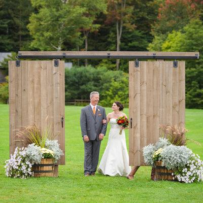 Mountain Top Inn The Knoll wedding