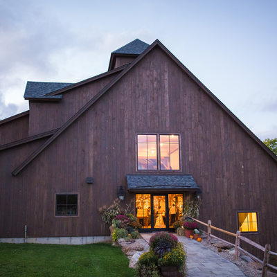 Mountain Top Inn wedding barn