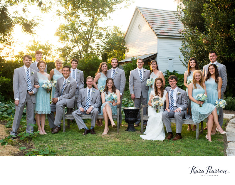Wedding Portraits At Barr Mansion In Austin