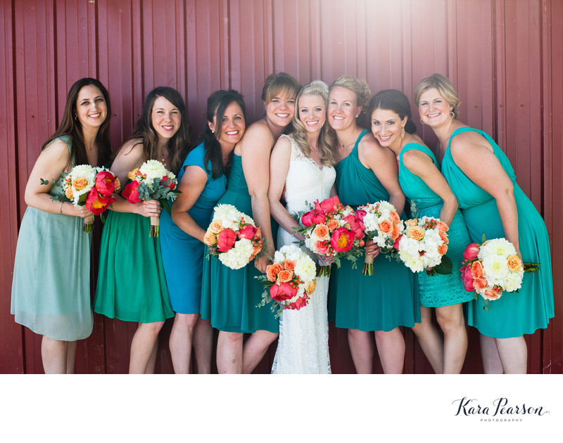 Osborn Farm Bridesmaid Portraits