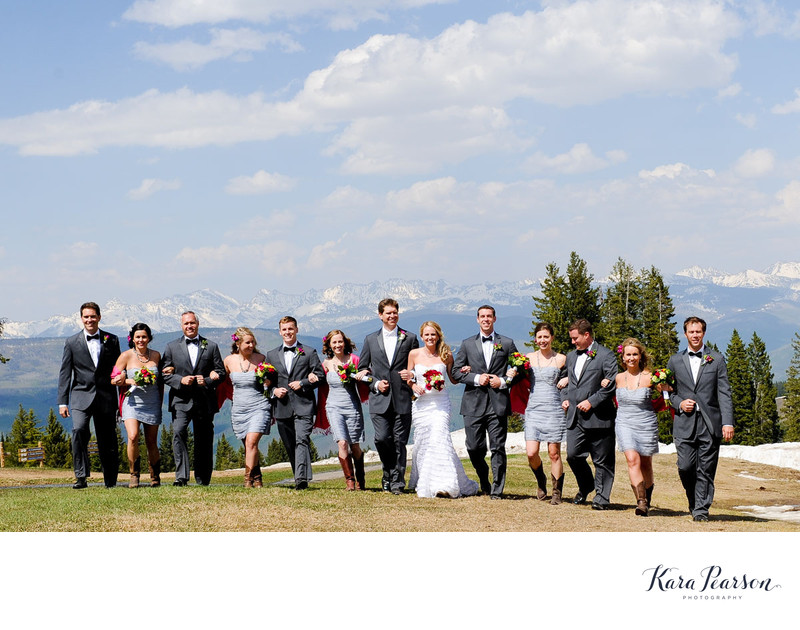 Beaver Creek Wedding Portrait