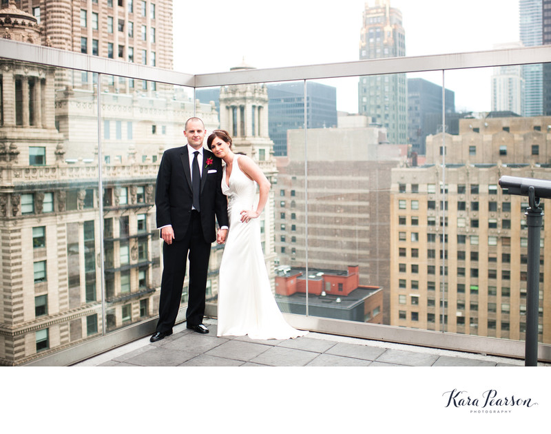 The Wit Wedding Portrait In Chicago