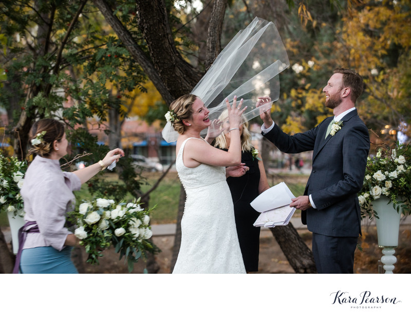 Boulder Central Park Wedding Ceremony